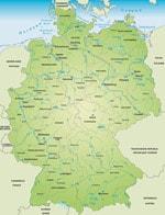 freenet TV / DVB-T2 HD - Deutschland Karte